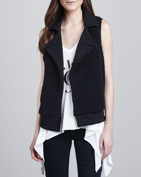 Bowery Reversible Sherpa Vest