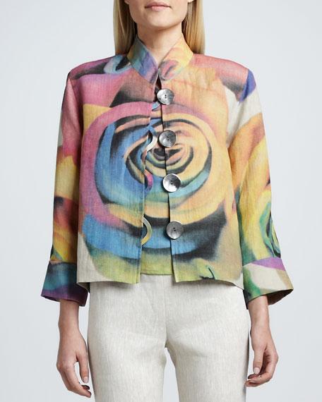 Big Flower Jacket, Women's
