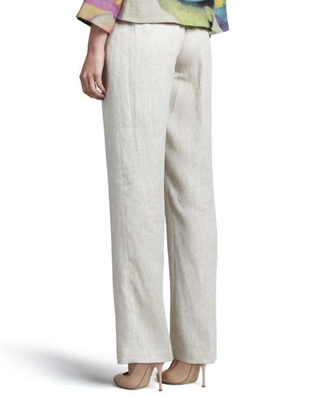 Linen Pants, Petite