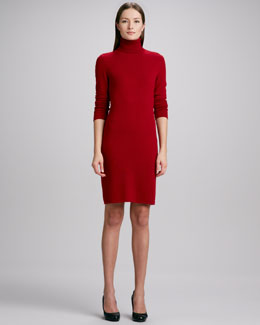 MAGASCHONI COLLECTION Cashmere Turtleneck Dress