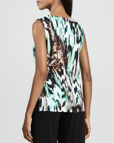 Urban Animal-Print Tank, Women's