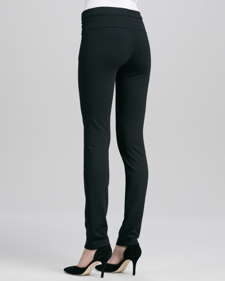 Fitted Slim Twill Pants