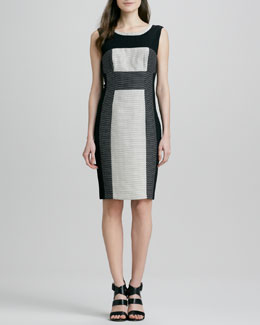 Yoana Baraschi Colorblock Dot Dress