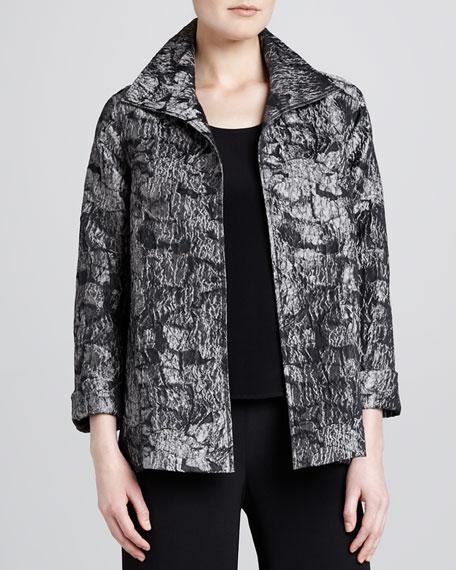 Mystic Jacquard A-Line Jacket