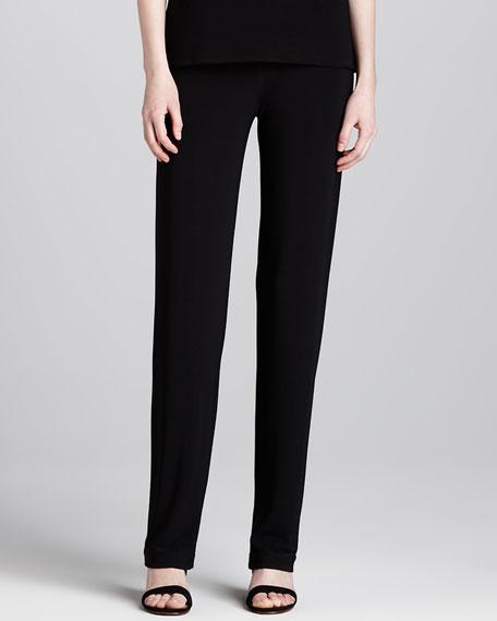 Straight-Leg Stretch Pants
