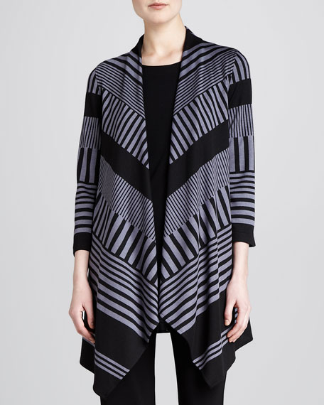 Walk-the-Line Knit Jacket, Women's