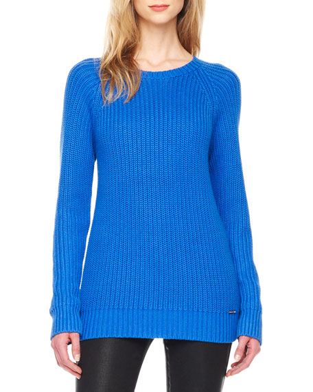 Long-Sleeve Knit Sweater