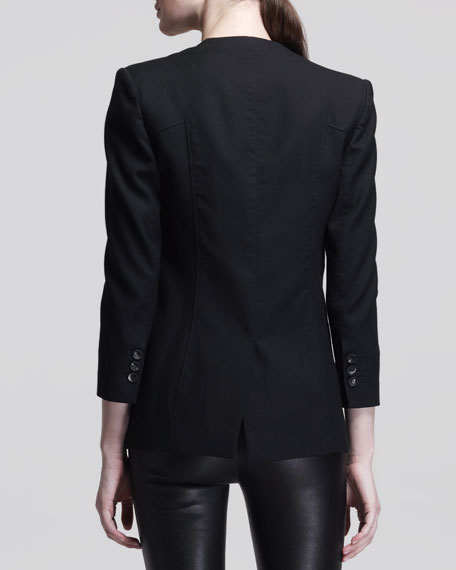 Ark Single-Button Suiting Blazer