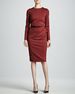 Carolina Herrera Wrapped and Draped Dress