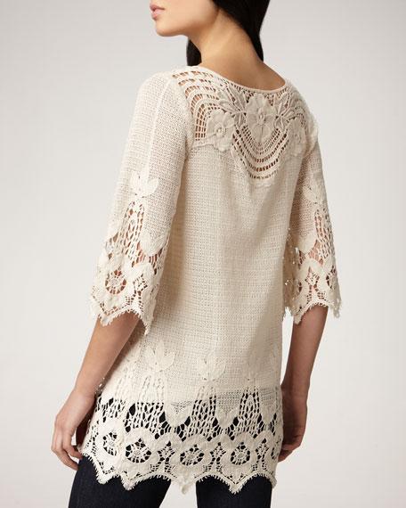 Crochet Tunic, Women's