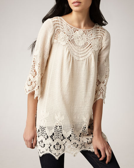 Crochet Tunic, Women's