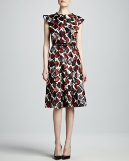 Carolina Herrera Printed Dress