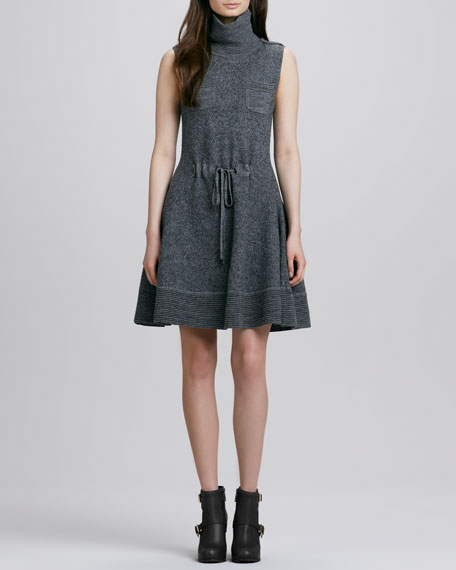 Rigby Funnel Neck Dress