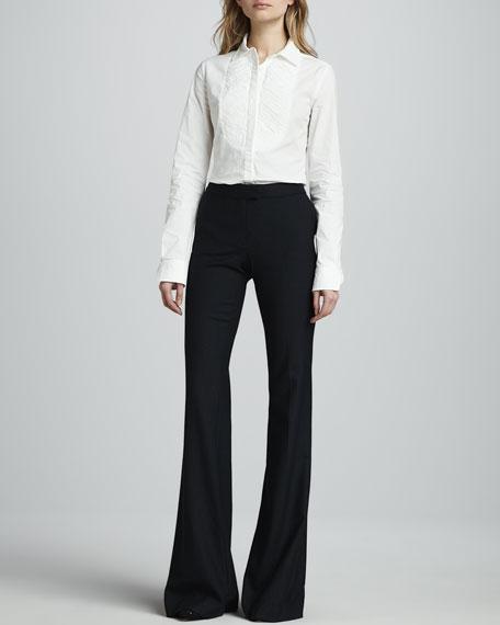 Rachel Flared Pinstripe Pants