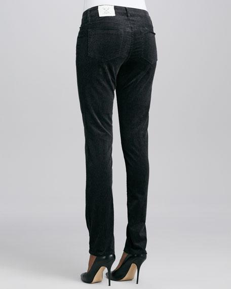 Sophia Forest Python Corduroy Pants