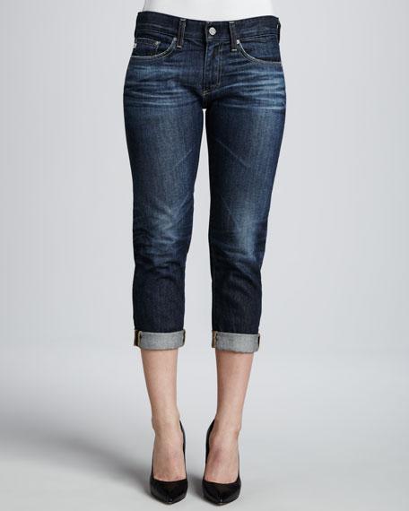 Piper Cuffed Skinny Jeans