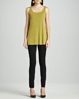 Eileen Fisher Stretch Ponte Skinny Jeans