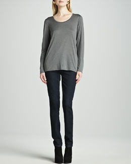 Eileen Fisher Soft Stretch Skinny Jeans