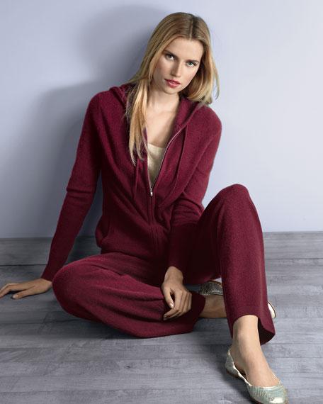 Cashmere Hooded Jogset, Women's