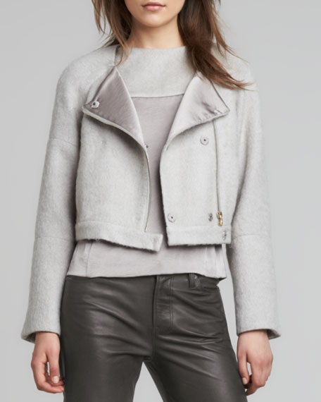 Elyn Cropped Felt Jacket