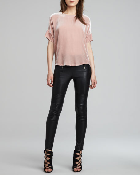 Emmi Skinny Leather Pants