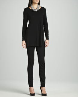 Eileen Fisher Ponte Skinny Jeans, Petite