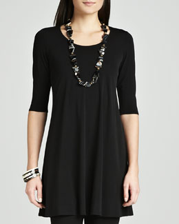 Eileen Fisher Viscose Jersey Tunic
