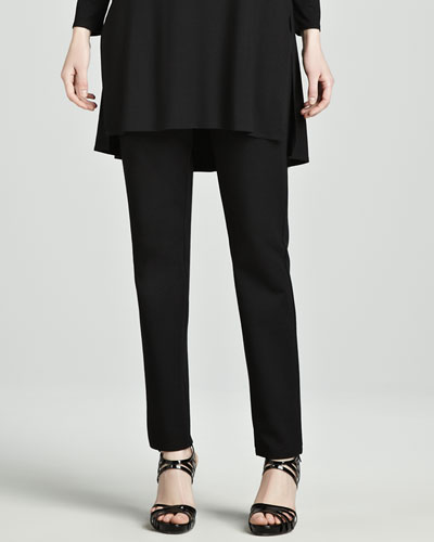 Eileen Fisher Slim Ponte Pants, Women's