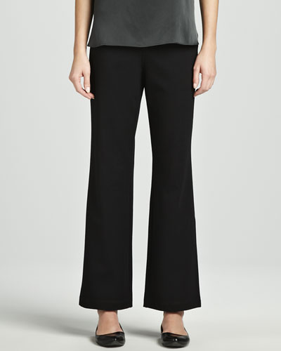 Eileen Fisher Ponte Straight-Leg Pants, Women's