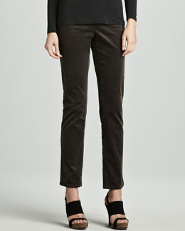 Eileen Fisher Slim Stretch Corduroy Jeans, Women's