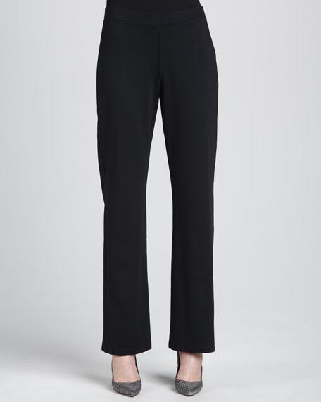 Heavyweight Rayon Slim Pants, Women's