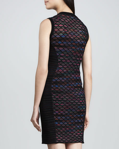 Diamond Horizon Sheath Dress