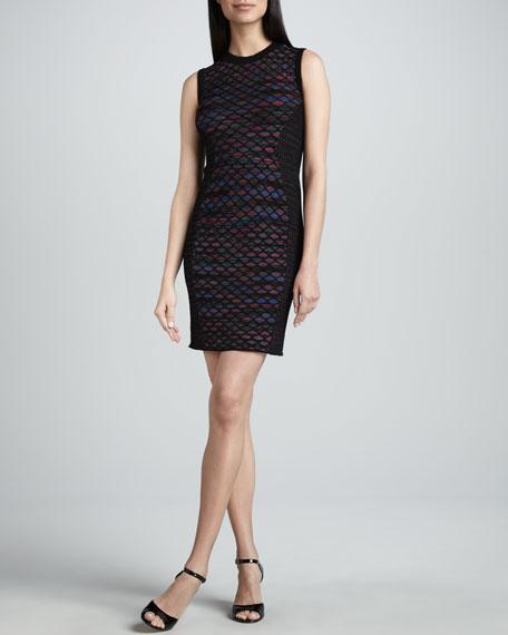 Diamond Horizon Sheath Dress