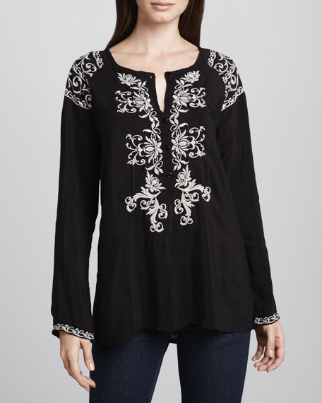 MIrage Embroidered Blouse