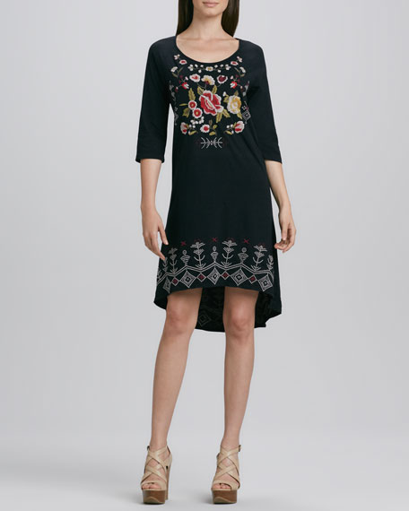 Dali Embroidered Dress, Women's