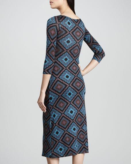 Amelie Deco Squares Dress