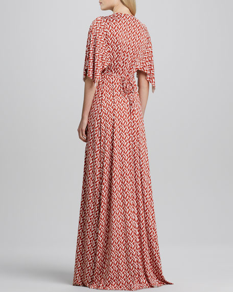Masala Labrynthe Full-Length Caftan Dress