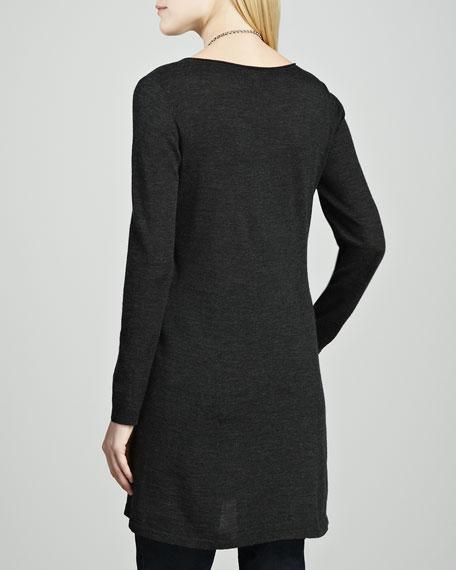 Easy A Merino Wool Long-Sleeve Tunic