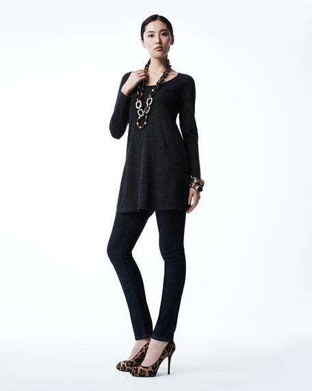 Easy A Merino Wool Long-Sleeve Tunic, Women's