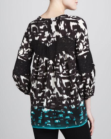 Celine Print Tunic, Women's