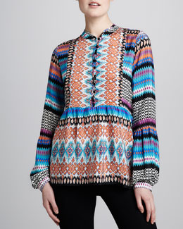Tolani Betty Printed Tunic, Women's