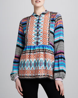 Tolani Betty Printed Tunic