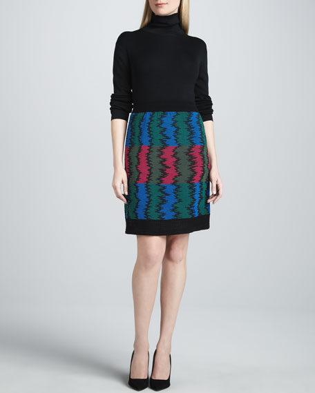 Frequency Knit Skirt