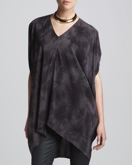 Crystalline Silk Tunic