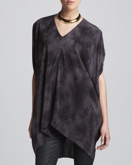 Crystalline Silk Tunic, Women's