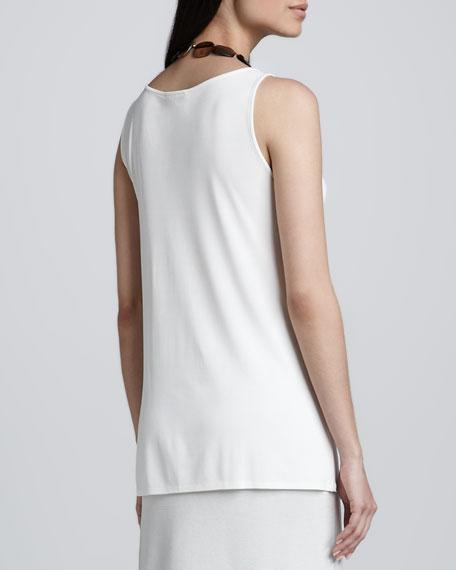 Silk Jersey Long Tunic, Petite
