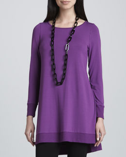 Eileen Fisher Jersey Layering Tunic