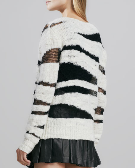 Sparrow Boat-Neck Sweater