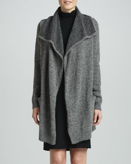 White + Warren Double-Face Sweater Coat