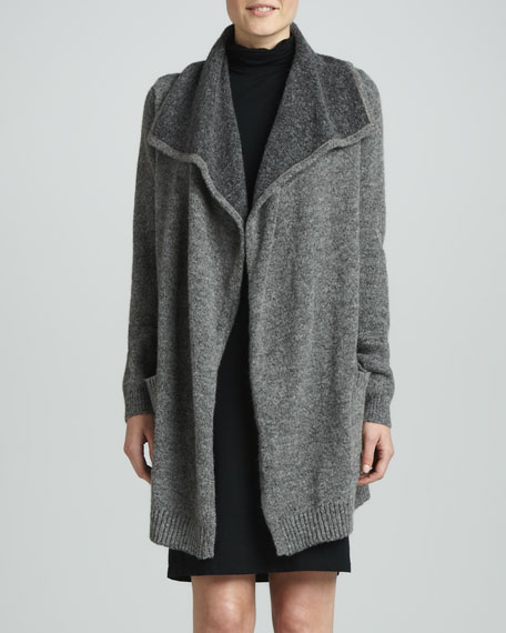 Double-Face Sweater Coat